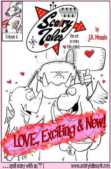 Scairy Tales vol 4, LOVE, Exciting + New cover