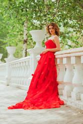 Red princess by lesyakikh