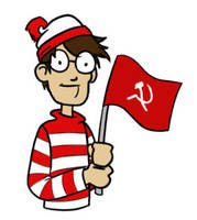 Communist Waldo by Immer