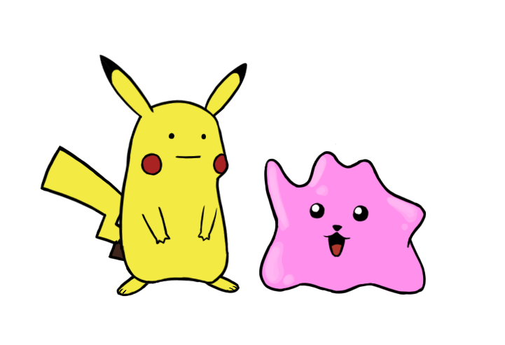 Image result for Pikachu and ditto
