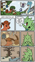 Tyranitar's Sand Stream by Immer