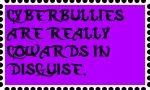 Cyberbullies are Stamp by DarkwingFan