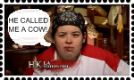 He called me a cow Stamp by DarkwingFan