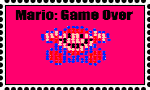 Mario, Game Over Stamp by DarkwingFan