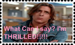 I'm thrilled stamp by DarkwingFan