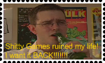 AVGN: Shitty Games Stamp by DarkwingFan