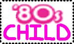 80's child stamp by DarkwingFan