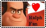 Ralph fan stamp by DarkwingFan