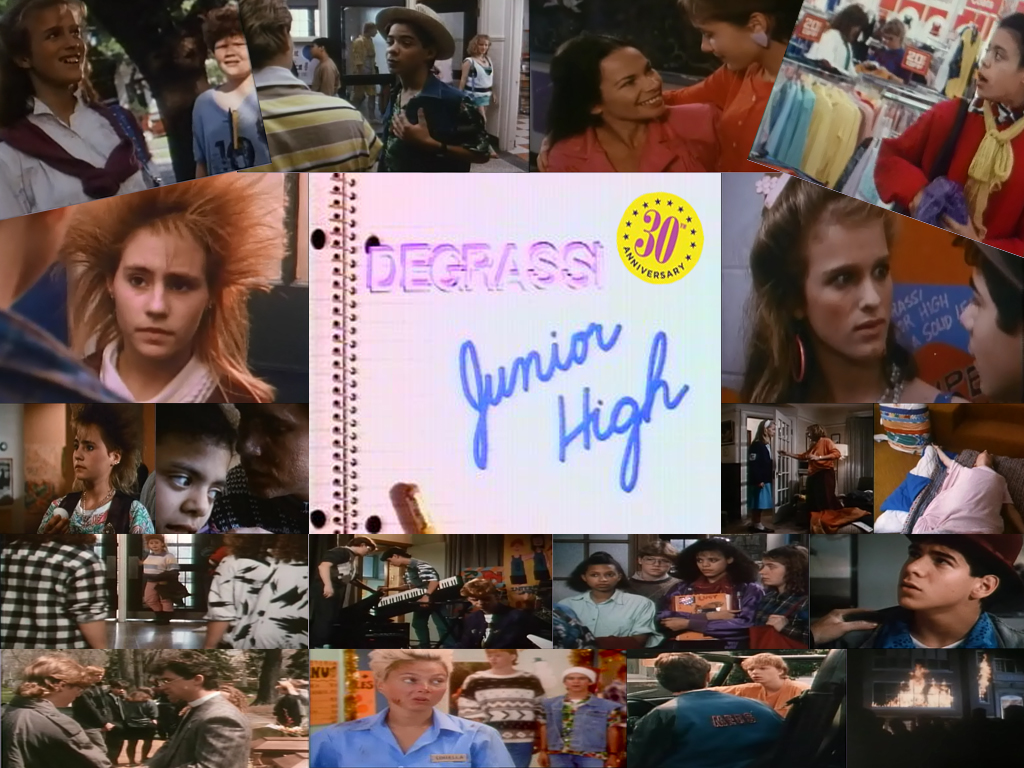 Happy 30th Anniversary Degrassi Junior High! by DarkwingFan