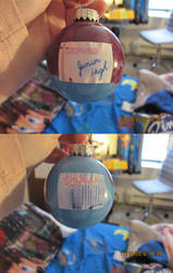 Degrassi Christmas Ornament by DarkwingFan