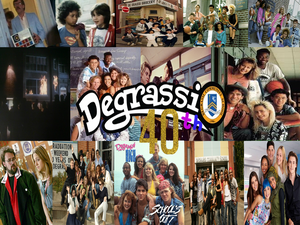 Degrassi 40th Anniversary Wallpaper