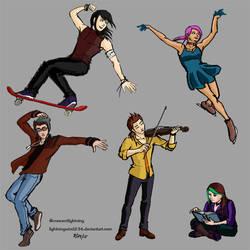 Original Characters' Hobbies