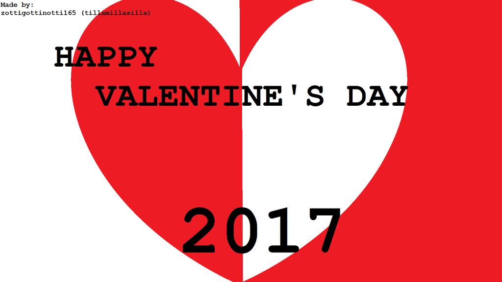 Happy Valentine's Day 2017 by tillamillasilla