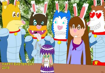 Happy Easter Day 2019 by tillamillasilla