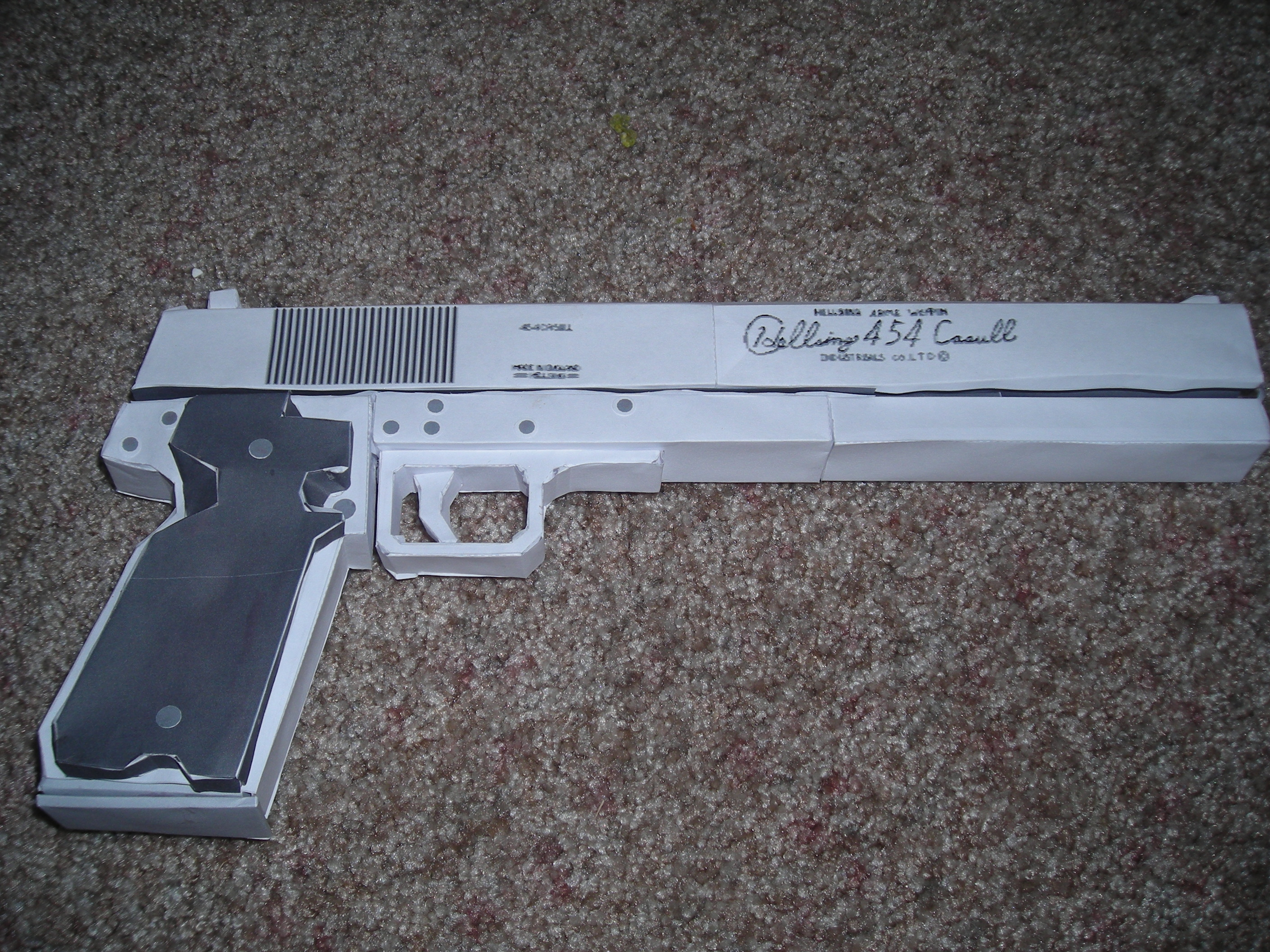 Casull Papercraft by DuckHunter111