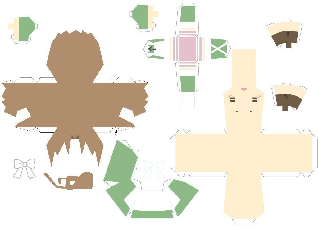 Chibitalia Maid Template by DuckHunter111 on DeviantArt