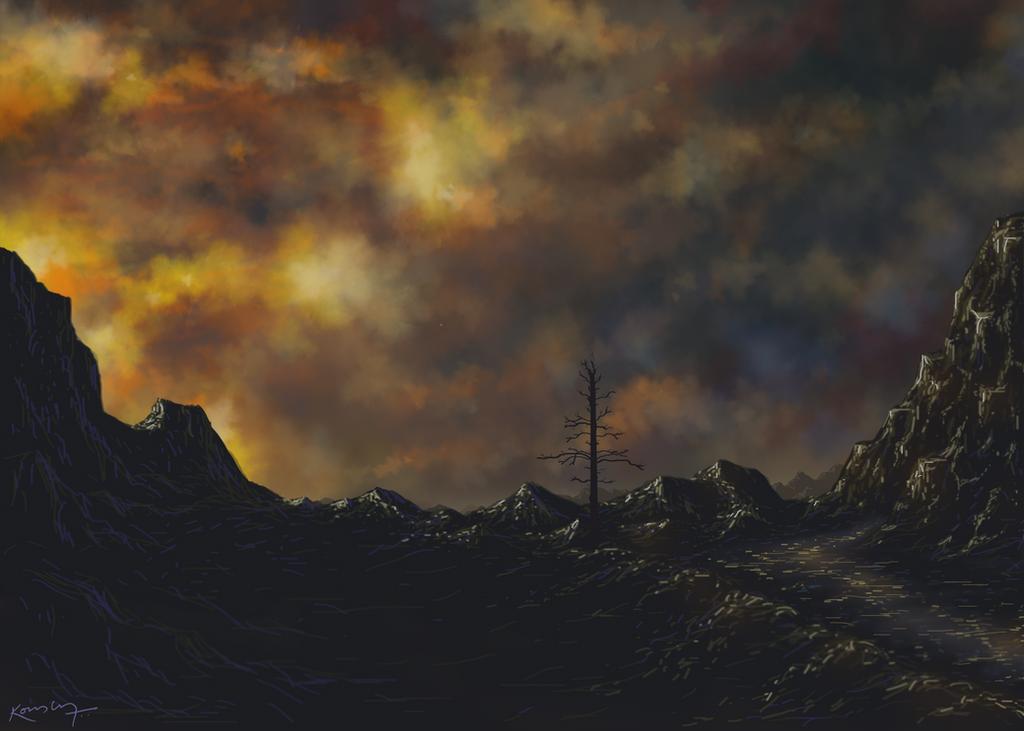 Lonely Mountains by 7anbuKakashi