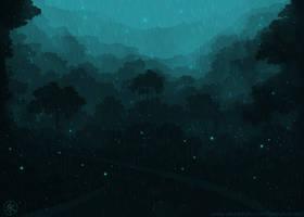 Mystic RainForest by 7anbuKakashi