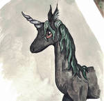 Swamp Unicorn by CorvidCreates