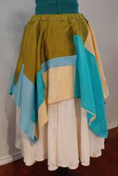 Zara's skirts, layered