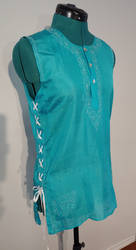 Upcycled Indian Silk Tunic