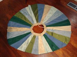 Patchwork Brocade Circle Skirt