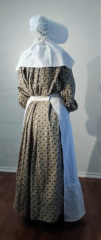 1850's American Pioneer Girl - Historical Remake