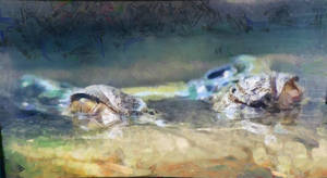 Gator Eyes (Spirit Animal Study)