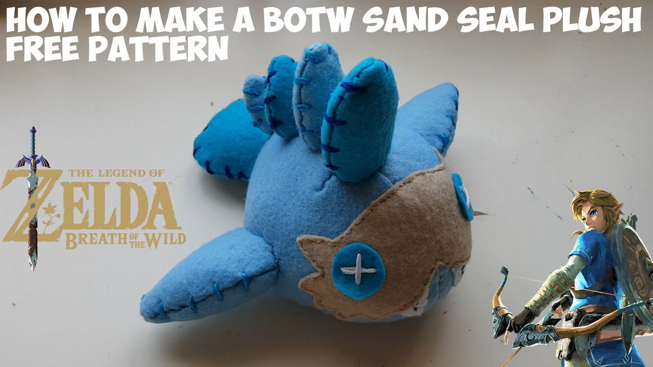 Sand Filled Stuffed Animals, How To Make A Breath Of The Wild Sand Seal Plushie By Witchcraftyyt On Deviantart