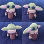 Baby Yoda Plushie For Sale + Free Pattern!