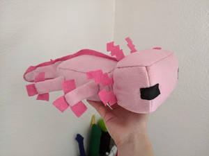 Minecraft Axolotl Plushie + Free Pattern