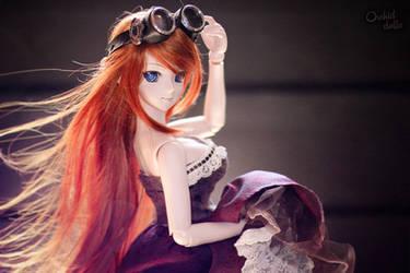 Yuuko . Time devourer by OrchidDolls
