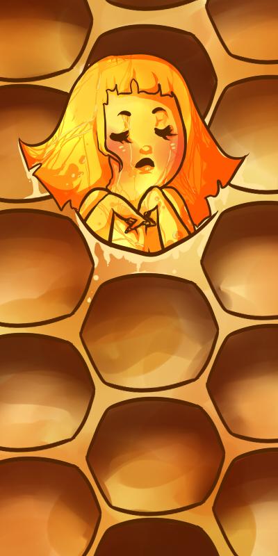 Honey Bee by Kitten-of-Darkness