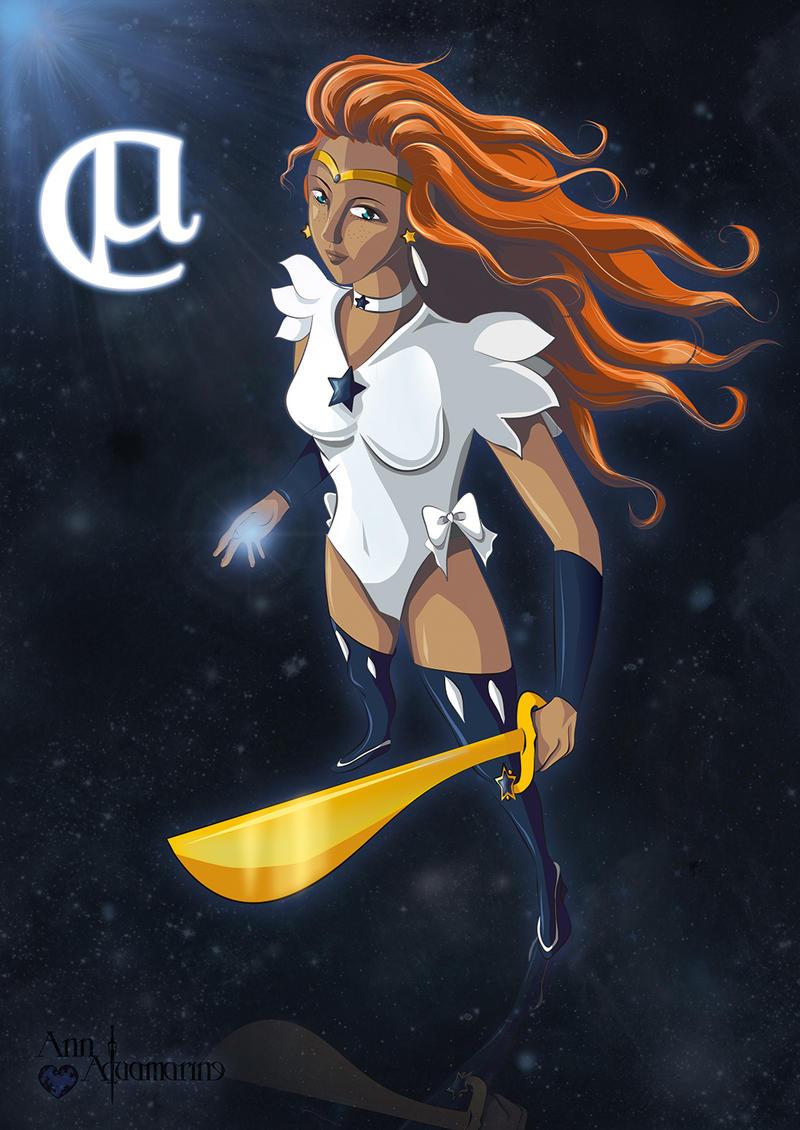 Sailor Mi Centauri by AnnAquamarine