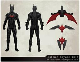 Batman Beyond by glubglubz