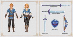 Zelda Fan Concepts: Champion Set