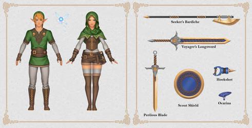 Zelda Fan Concepts: Adventure Set
