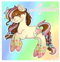 [MLP][OC] Lydia - Rainbow Power by AMagician