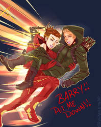 Barry put me down!