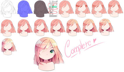[Tutorial] Hair Coloring