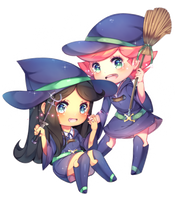 [Com] Witches! by Ina-a