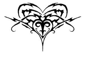 Tribal heartthing by tantrut