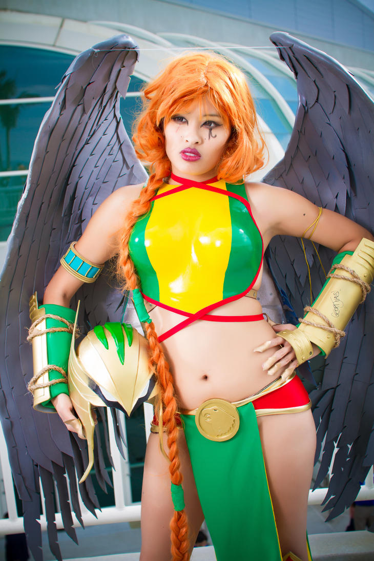 Ame-Comi Hawkgirl by kiwi5frog
