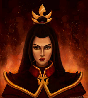 Azula the fire Lord (colour version)