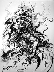 Mermaid sketch by KsuShusha