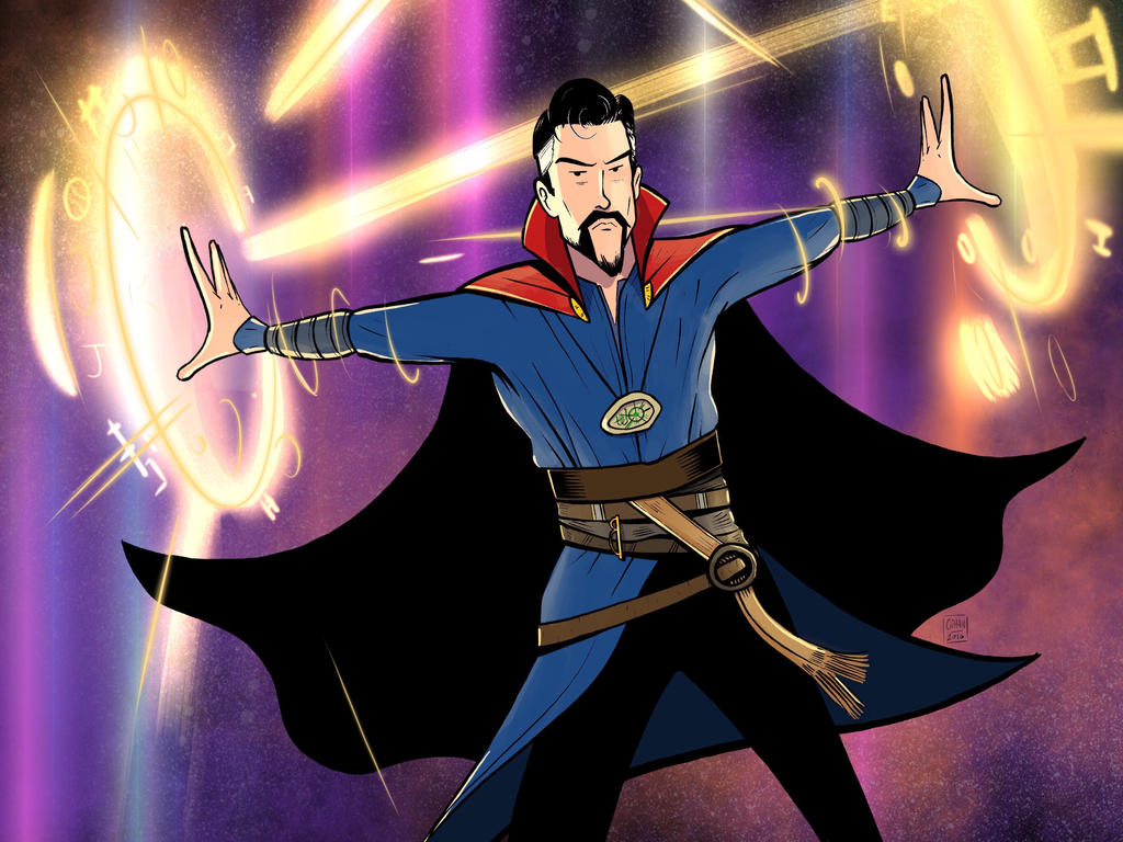 Doctor Strange by Spinefeast