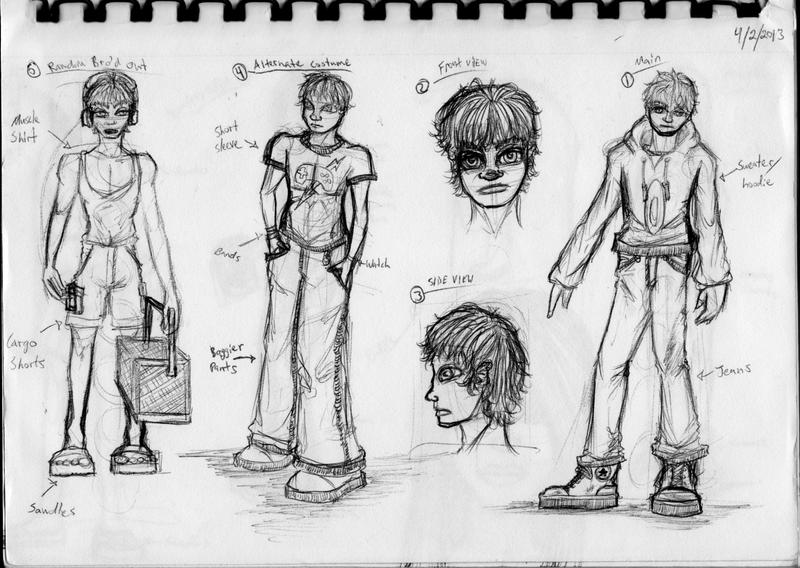 deviantart character sketches - photo #5