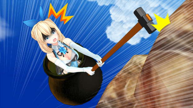 [MMD/DL] Getting Over It Tools ! [Accessories/dl] by BrightShadowMMD