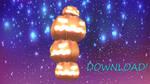 [MMD/DL] Pumpkin Tower  ! [stage/dl] by BrightShadowMMD