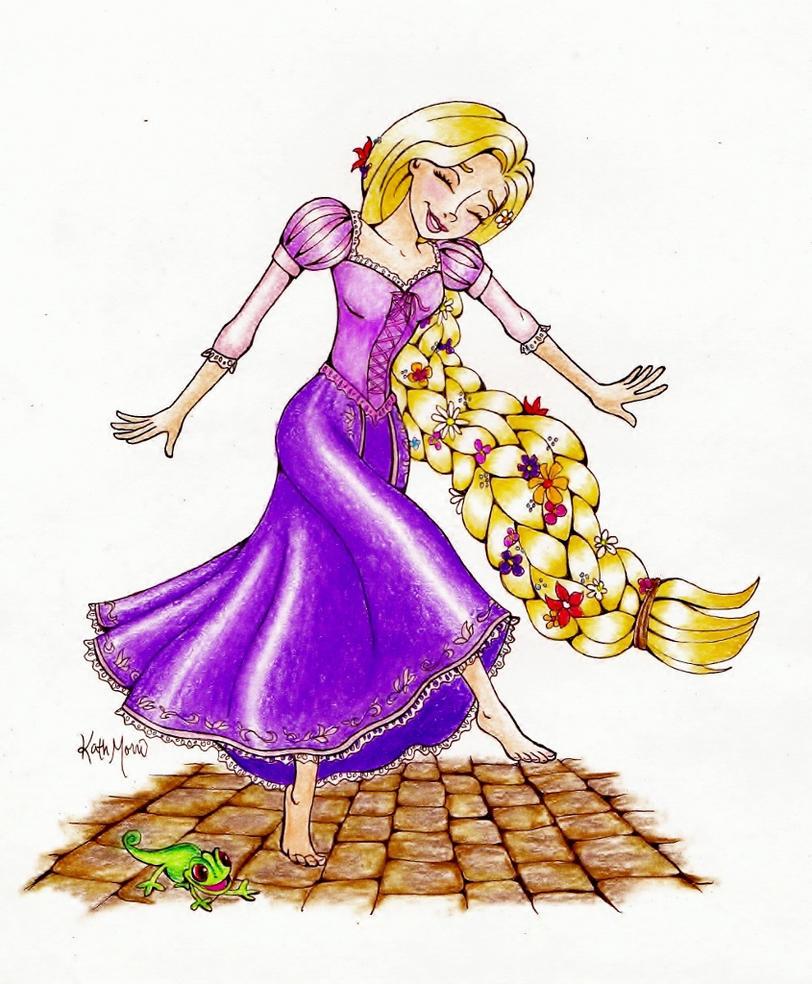 Rapunzel. by bummblebird